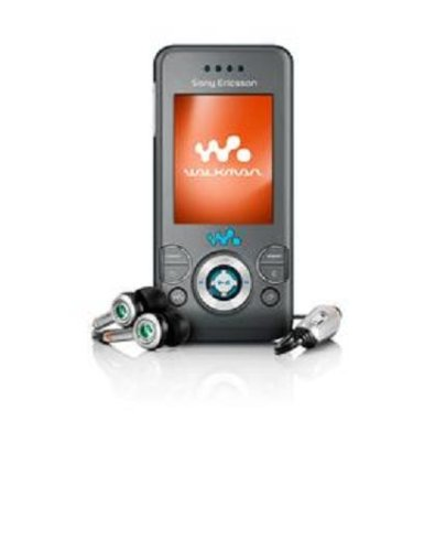 Sony Ericsson W580i Unlocked Cell Phone with 2 MP Camera, MP3/Video Player, Memory Stick Micro--U.S. Version with Warranty (Urban Gray)