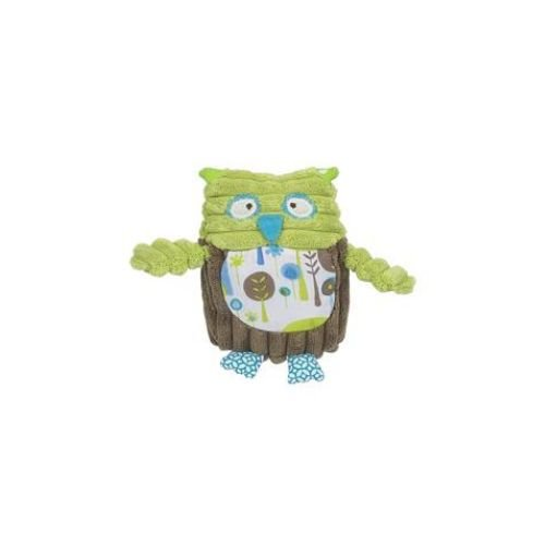 "Maison Chic Boy Owl Rattle, Boy Owl, 4.5"" (Discontinued by Manufacturer)"
