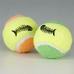 SPOT Mini Tennis Balls for Cats with Catnip