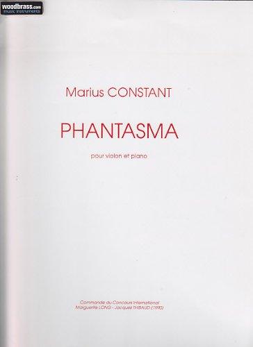 Phantasma Violon-Piano - SCORE