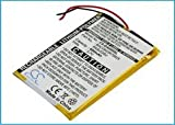 Battery for Creative Zen 16GB 32GB 4GB 8GB DVP-FL0001 ZN-Z4G-BK 3.7V 600mAh