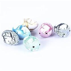 1PCS Hatching Growing Dinosaur Dino Eggs Add Water Magic Cute Children Toy Gift