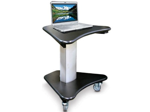 Afc Tc-3024-Wc Telescopic Cart Electronically Height Adjustable From 30In-46In.Three 4In Caster