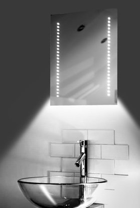 Ambient Shaver Led Bathroom Illuminated Mirror With Demister Pad & Sensor K36Sw