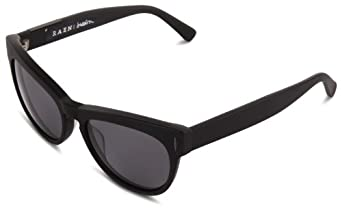 Raen Breslin Butterfly Polarized Sunglasses,Matte Black,54 mm