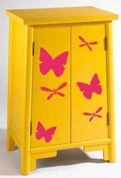 Miroir adhesif papillon pas cher for Miroir semi reflechissant acheter