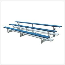 Tip N' Roll Bleachers 3 Rows by Ssg / Bsn