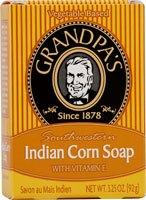 Grandpa'S Southwestern Indian Corn Soap With Vitamin E - 3.25 Oz, 6 Pack