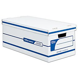 Amazing Amazoncom  Office Depot 60 Recycled Quick SetUp Storage Boxes With