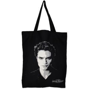 twilight edward's face tote bag