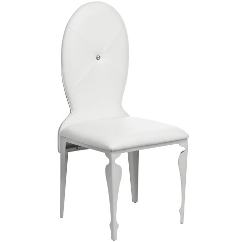 Remarkable Deals On Uk Premier Housewares Set Of 2 Dining Chairs White Gamerscity Chair Design For Home Gamerscityorg