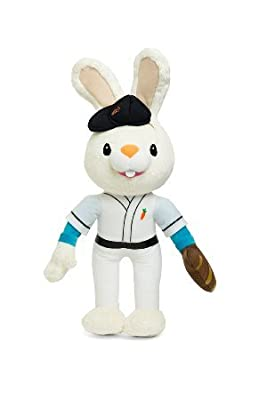 BUNNY OF THE YEAR - Baby First TV: Harry the Bunny Soft Plush Toy - Stuffed Animals for the Perfect Baby Shower Gift. Baby First Year Plush Toys. Infant Toddler Baby Toys - BabyFirst -