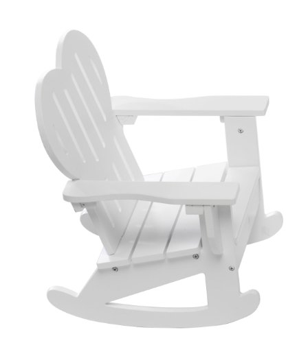 "Adirondack Rocking Chair Fits American Girl Dolls - 18"" Inch Doll Outdoor Furniture"