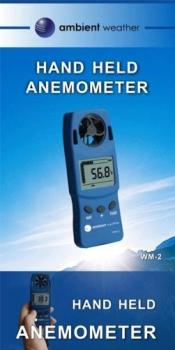 WM-2 Handheld Wind Meter