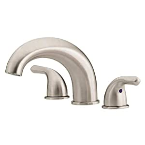 Danze D300911bn Melrose Two Handle Roman Tub Faucet Brushed Nickel Two Handle Widespread