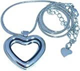 Clearly Charming Heart Locket Necklace