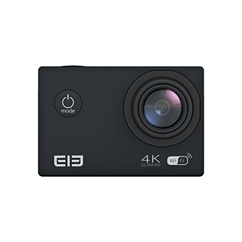 Generic WIFI Sport Action Camera, ELE CAM Explorer 1050mAh Aliwinner V3 2.0 Inch TFT LCD 4K 16MP Waterproof Camera 170° Wide Angle Lens with Accessory-Black