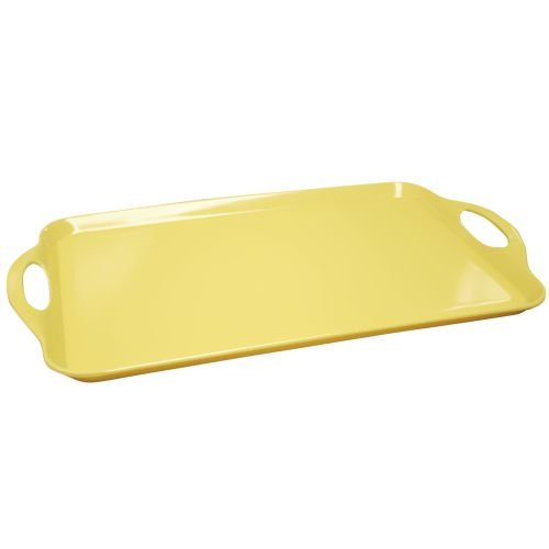 Calypso Basics, 07201, Melmaine Rectangular Tray, Lemon (Yellow Tray compare prices)
