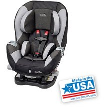 evenflo triumph lx convertible car seat darby gray baby. Black Bedroom Furniture Sets. Home Design Ideas