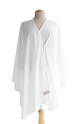 Primo Bebitza 100% Cotton Jersey Nursing Cover, Cream - 1