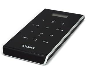 Zalman ZM-VE400 Enclosure for 2.5 inch S-ATA Virtual Drive/Hard Drive - Black