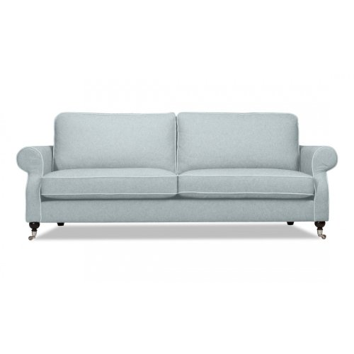 FASHION FOR HOME 3-Sitzer-Sofa Chaplin II Hellgrau