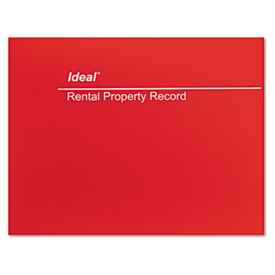 Ideal Rental Property Record, 8.5 x 11 Inches, 60-Page Wirebound Book (M2512)