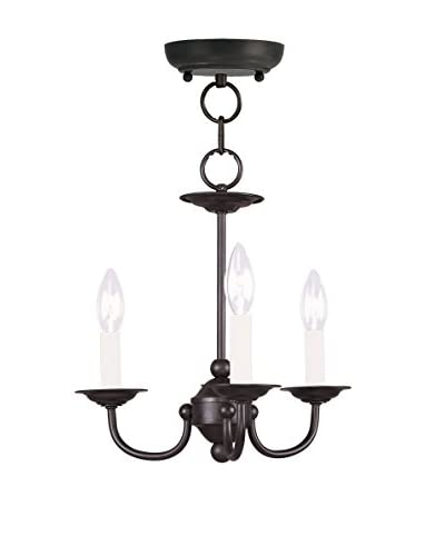 Crestwood Bethany Mini Chandelier, Black