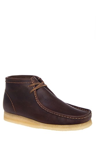 Men's Leather Lace-up Wallabee Chukka