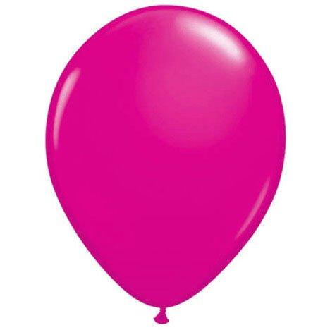 "Qualatex 16"" Wild Berry Latex Balloons (10ct)"