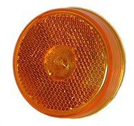 Truck-Lite 10205Y Yellow, Model 10, 2-1/2'' Reflectorized Marker & Clearance Lamp