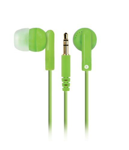 Merkury Innovations M-Hp2070 Hi Light Earbuds - Neon Green