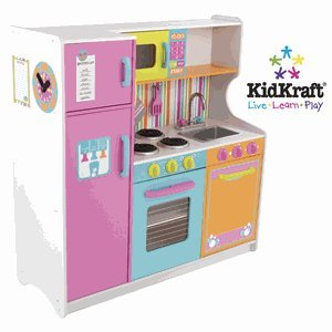 KidKraft Deluxe Big and Bright Kitchen for Children