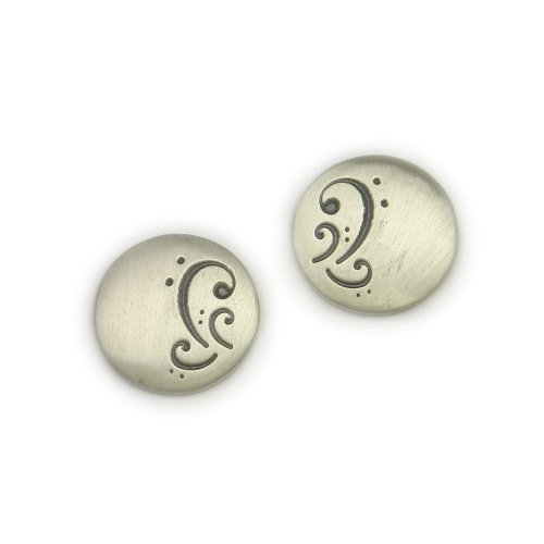 Ortak Silver 'Silent Prayer' Earrings EG6 from Evelyn Glennie Collection
