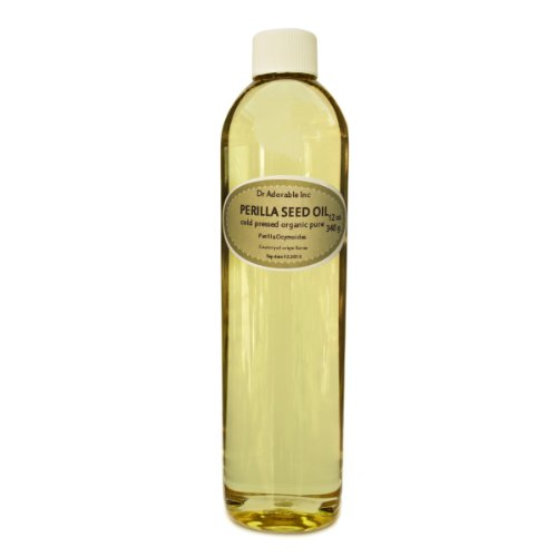 Perilla Seed Oil Oil Pure Cold Pressed Organic 12 Oz