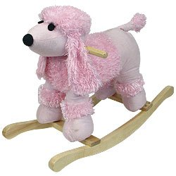 HAPPY TRAILS Poodle Plush Rocking Animal. Product Category: Toys & Games > Happy TrailsT