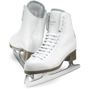 Glacier by Jackson GS524 Tots Ice Skates White Premium Recreational Figure Skating... by Glacier