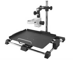X-Y Workstation Only (does not include F-holder) for Flexbar X-Y Positioning Microscope Workstation & Systems. Now available for use with Flexbar Stereo Microscope Heads, Flexbar DigiScope and Flexbar Macro-Zoom & Micro-Zoom Video Imaging Components X-Y