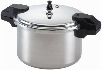 Mirro 92160A 6-Quart Pressure Cooker, Aluminum from T-FAL CORPORATION