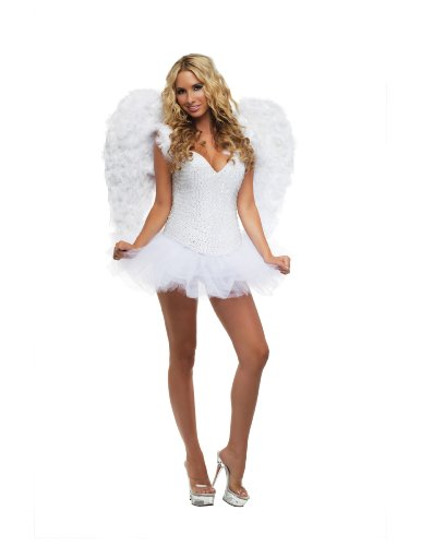 Starline Signature White Sexy Angel Women's Costume