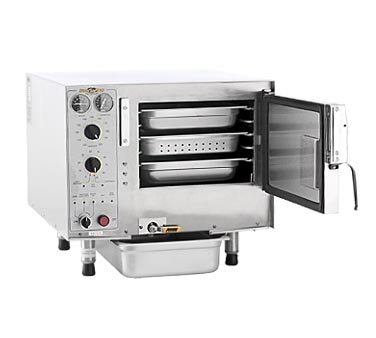 Accutemp S32083D120 1 Compartment Convection Steamer, 12 Kw. 208 V.