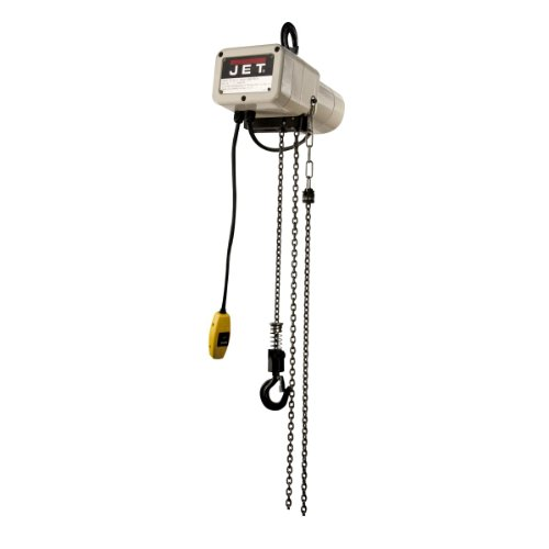 Jet Jsh-275-10 1/8-Ton 10-Feet Lift Electric Hoist