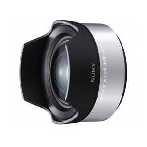 Sony VCLECU1 High Definition Wide Angle Conversion Lens - Silver