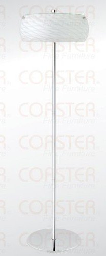 How About White Shade Floor Lamp By Coaster Furniture
