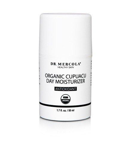 natural moisturizer for face Dr. Mercola USDA Certified Organic Cupuacu Day Moisturizer(1.7 fl.oz)