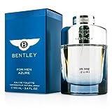 NEW Bentley Azure EDT Spray 3.4oz Mens Men's Perfume