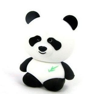 4GB Baby Panda Bear USB 2.0 High Speed Silicon Flash Memory Drive Disk Stick Pen Support Windows and MacOS Great Gift by EASYWORLD