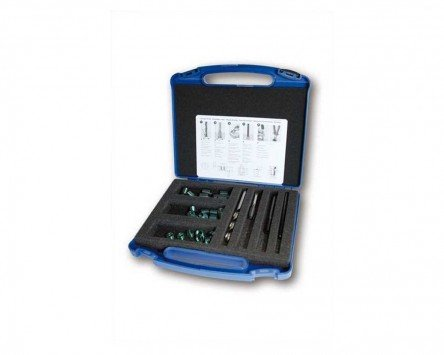 Helicoil plus m 10 x1 25 kit de r paration filetage for Reparation miroir