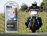 #2: Alpine Motosafe Gehörschutz für Motorrad Quad Motorcross mit Transporttasche.