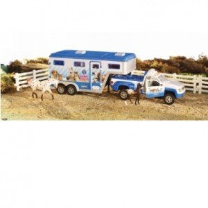 Breyer Animal Rescue Truck and Trailer